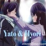 Vagas - Casais de Animes - Yato & Hyori - Noragami (Vídeo)