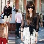diHITT & Você - Veja aqui camisas lindas e transparentes que estao na moda 2014