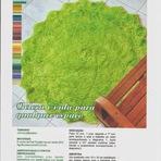 Outros - Tapete Verde com Franjão - Fial