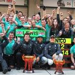Fórmula 1 - Domínio da Mercedes