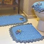 Outros - Jogo de Banheiro Azul