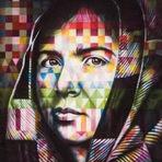 Arte & Cultura -  Eduardo Kobra inaugura mural em Roma