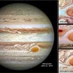 Espaço - Grande mancha vermelha de Júpiter está a encolher (com video)