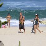 Hobbies - Kadu Moliterno curte dia de praia com a filha