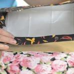 Utilidade Pública - Bolsinha de caixa de leite - Reciclar com Arte