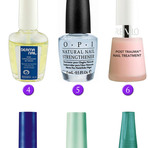 Produtos para ajudar a fortalecer as unhas