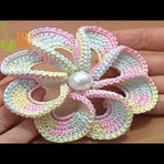 """Arte & Cultura - Espiral """"3D"""" 8...Pétala Flor acabamento ao redor...confira que lindo!!!"""