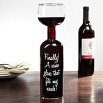 A taça de vinho perfeita
