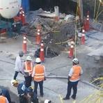 """Utilidade Pública - Cratera em obra do metrô """"afofou"""" solo de rua em Ipanema, diz engenheiro"""