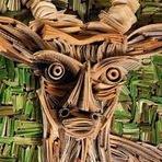 Arte & Cultura - Esculturas de Jornal!
