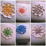 Hobbies - Passo a Passo Centrinho Para Puffs de Crochê 100% em Sacolas Plásticas