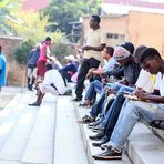 Empregos - Haitianos encontram emprego em SP