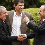 Eleições 2012 - Maluf anuncia apoio a Dilma e diz ser comunista perto de Lula