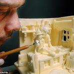 Arte & Cultura - Esculturas de Manteiga!