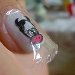 Pintura - Veja como fazer adesivos para unhas