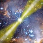 Espaço - NASA detectou uma enorme explosão na nossa galáxia vizinha