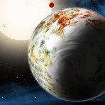 Espaço - Cientistas descobrem uma megaterra