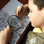 Pintura - Prodígio de 11 anos cria desenhos incríveis com flora e fauna anatomicamente corretas