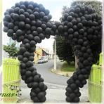 Arco de Balões Orelha do Mickey