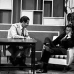 Entretenimento - Em 1965, apresentador da Globo teve enfarte e morreu ao vivo