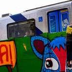 A arte do grafite cobre 4 km do caminho para Arena Corinthians