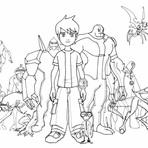 Educação - Desenhos do Ben 10 para Imprimir e Colorir