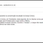Segurança - Neymar e Marquezine em ato - Globo News