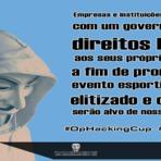 Segurança - Contra a Copa do Mundo Anonymous Brasil derruba sites patrocinadores do Mundial