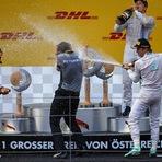 Nico vence e Massa chega em 4º no GP da Áustria