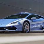 Automóveis - Lamborghini LP 610-4 Huracán Polizia