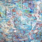 Pintura - Pintura Abstrata cores da Paz