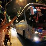 Copa do Mundo - SELEÇÃO BRASILEIRA JÁ ESTÁ EM FORTALEZA PARA O JOGO BRASIL X COLÔMBIA NO CASTELÃO