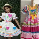 Dicas de Vestido Infantil para Festa Junina