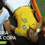 Copa do Mundo - NEYMAR ESTÁ FORA DA COPA DO MUNDO APÓS FRATURAR VÉRTEBRA