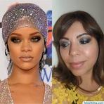 Vídeos - Make inspiração Rihanna
