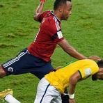 """Copa do Mundo - """"UMA JOGADA NORMAL"""", DIZ COLOMBIANO QUE TIROU NEYMAR DA COPA"""