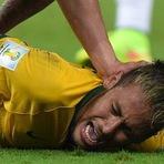 Copa do Mundo - Bomba: Exames apontam fratura na vértebra e Neymar está fora da Copa