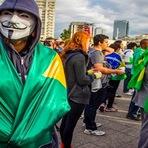 Internacional - Entenda porque os manifestantes sumiram