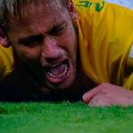 """Copa do Mundo - TRISTE, NEYMAR FALA PELA PRIMEIRA VEZ APÓS LESÃO: """"ME TIRARAM O SONHO DE DISPUTAR UMA FINAL DE COPA DO MUNDO"""""""