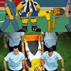 """Copa do Mundo - A Paixão de Neymar (Ou : """"Simpsons"""" prevê lesão de El Divo"""""""