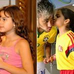 Copa do Mundo - 'Mini Bruna' manda recado para Neymar: 'Fique bom logo'