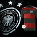 Copa do Mundo - Adidas faz a Camisa da Alemanha igual a do Flamengo