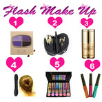 Ofertas - Wishlist de julho na Flash Make Up