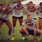 Copa do Mundo - Que coxonas Jogadores da Alemanha exibe as suas coxas definidas