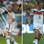 Copa do Mundo - O Grande do Duelo de Alemanha e Argentina na Final da Copa do Mundo