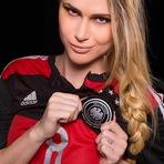 Copa do Mundo - Fernanda Araldi vira Musa da Alemanha contra Argentina; veja fotos
