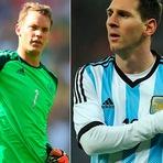 Copa do Mundo - Messi e Neuer são eleitos os melhores da copa do mundo do Brasil