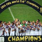 Futebol - Fim da Copa: Venceu a melhor seleção! Alemanha campeã! O Brasil tenta esquecer a Copa das Copas