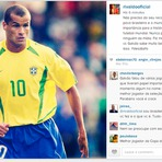 """Copa do Mundo - RIVALDO MANDA RECADO PARA GALVÃO BUENO: """"NÃO PRECISO DO SEU RECONHECIMENTO"""""""