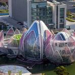 Conheça o incrível prédio em formato de flor de lótus